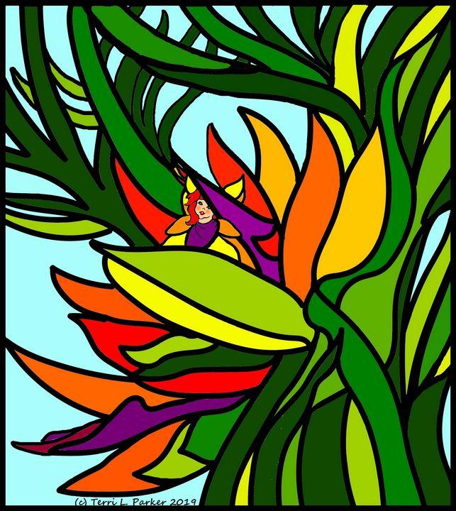 Bird of Paradise Fairy 2 - Artgal Creations