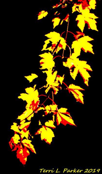 Yellow Vine 1 - Artgal Creations