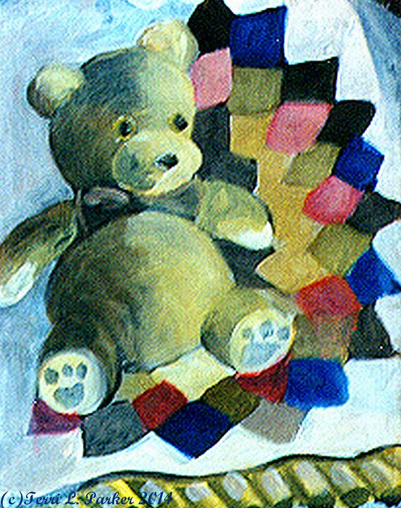 Teddy Bear - Artgal Creations