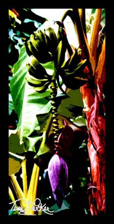 Banana Tree - Artgal Creations