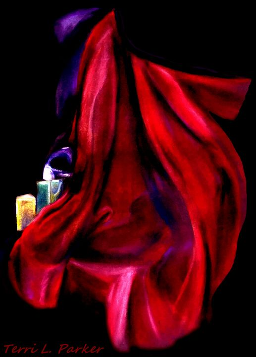 Red Cape - Artgal Creations