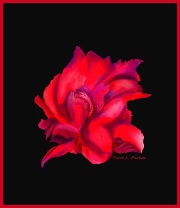 Red Flower ! - Artgal Creations