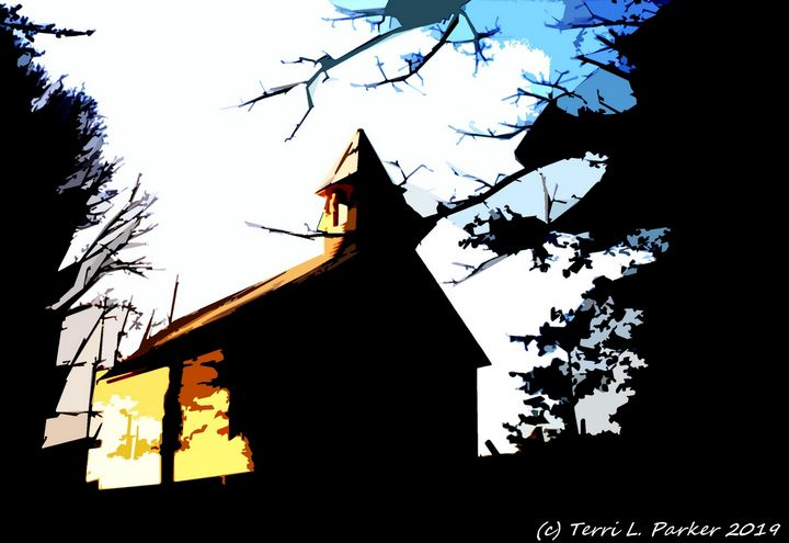 Old Church - Artgal Creations