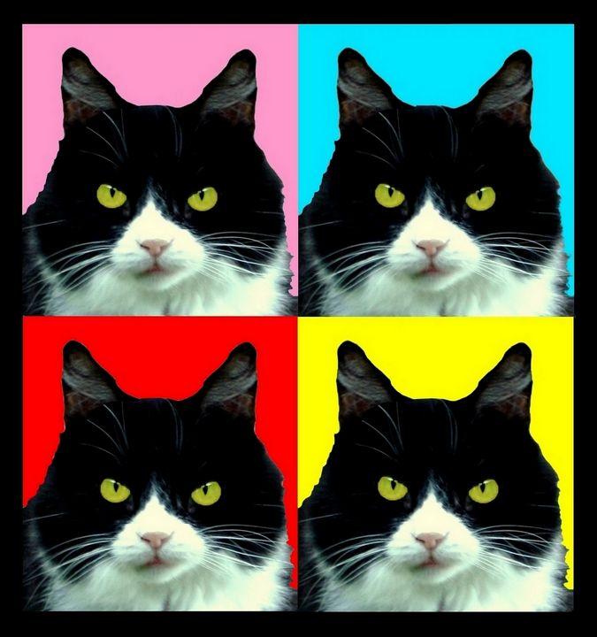 Pop Art Kitty - Artgal Creations