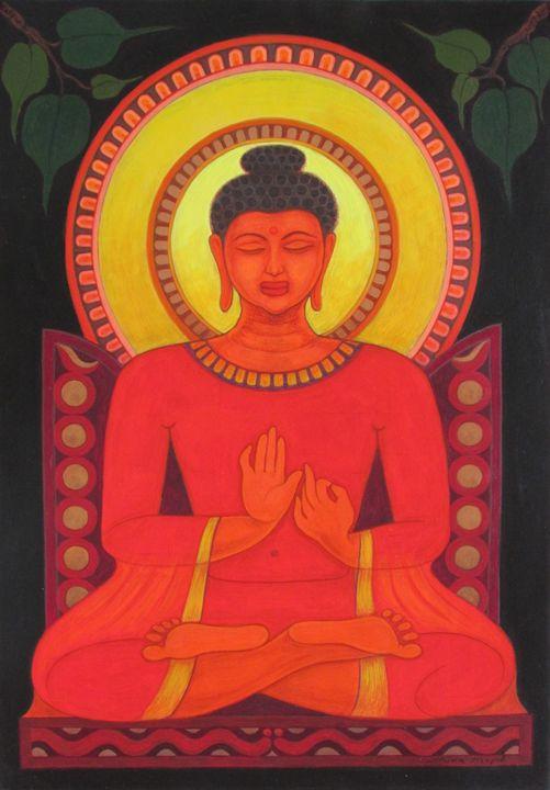 BUDDHA IN MEDITATION - SHIVAYOGI MOGALI