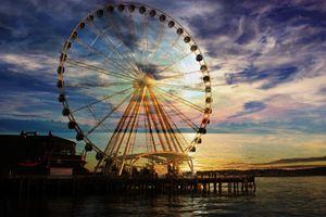 Seattle Farris Wheel