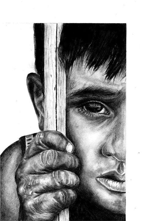 Caged - Winnie Akaba Art