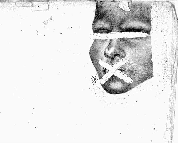 Silence - Winnie Akaba Art