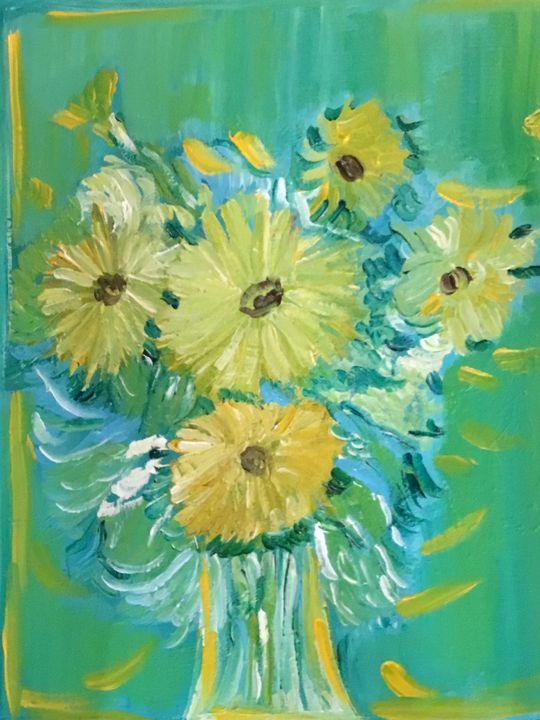 Yellow bouquet - hunterbturner@gmail.com