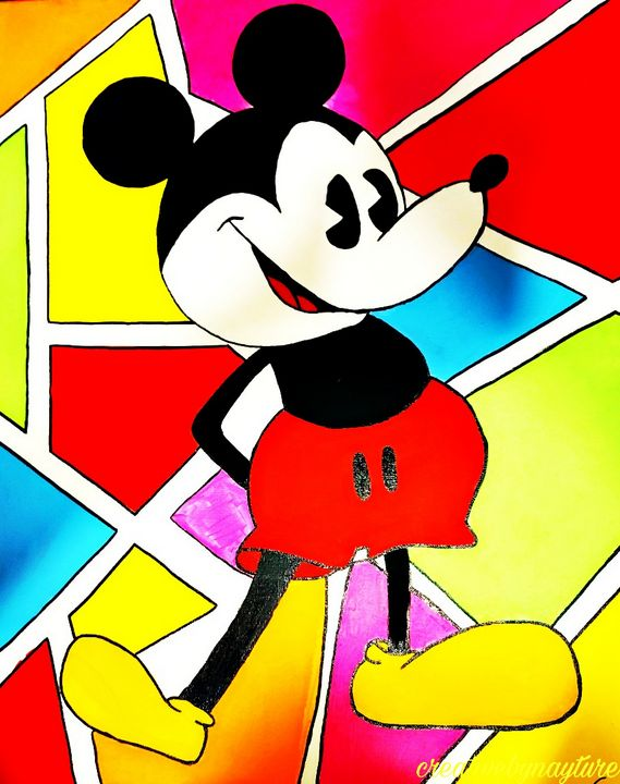 Mickey Mouse - Creativebynayture