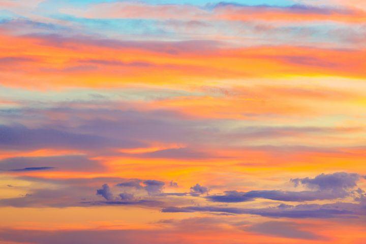 Happy Hour Sky - Dennis Sabo Photography