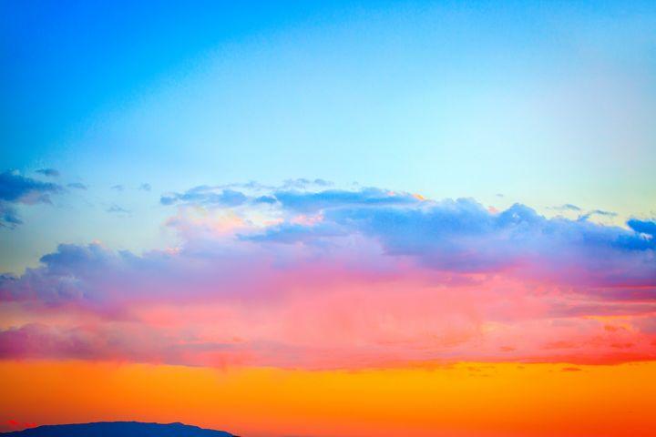 Indian Sunset - Dennis Sabo Photography