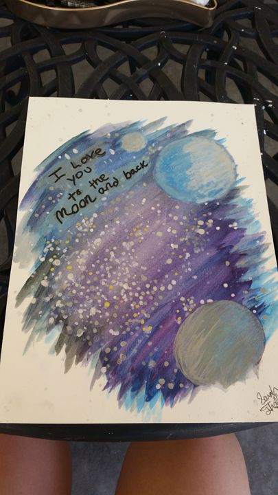 To the Moon and Back - Sarah Theller: Artist