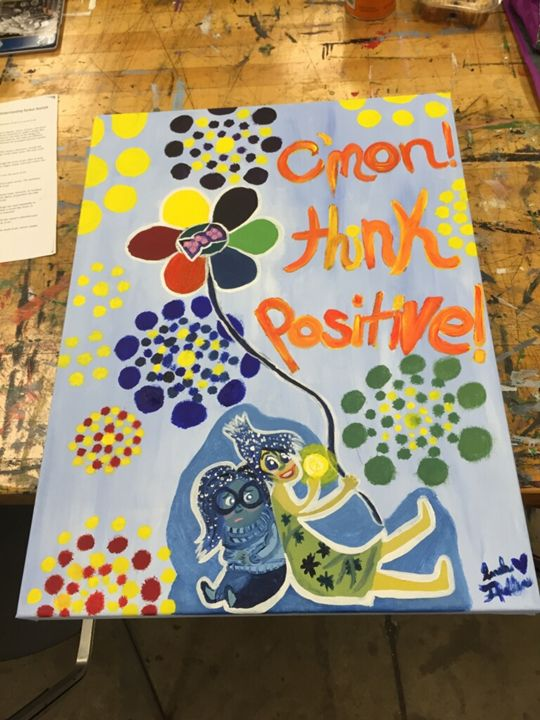 Think Positive - Sarah Theller: Artist