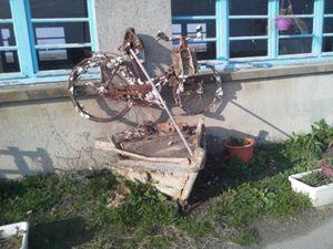 bateau vélo.