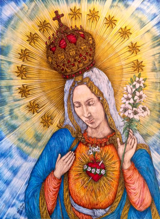 Immaculate Heart Of Virgin Mary - Kent Chua