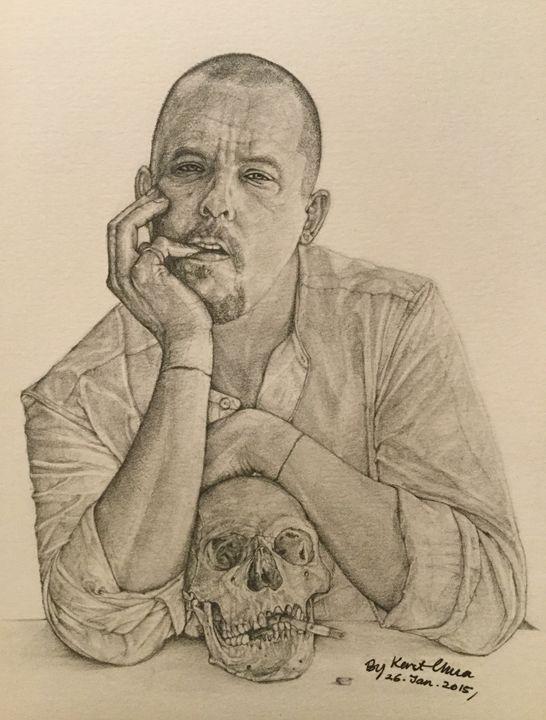 Alexander McQueen Drawing - Kent Chua