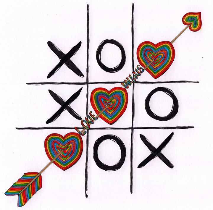 Love Wins Drawing - Kent Chua