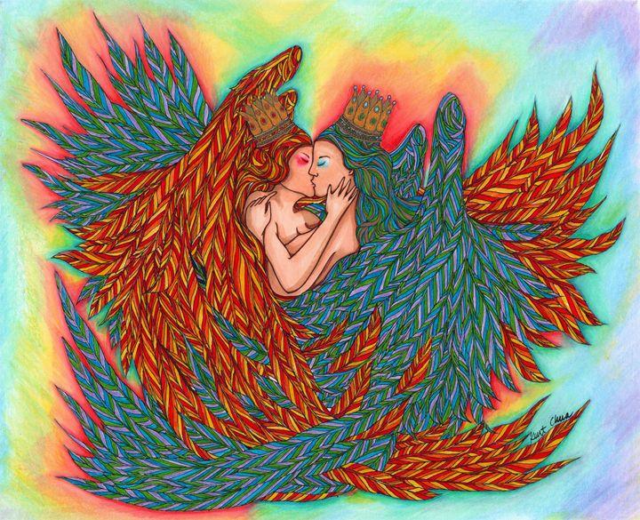Rainbow Princess Angels - Kent Chua