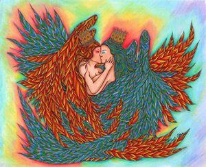 Rainbow Princess Angels