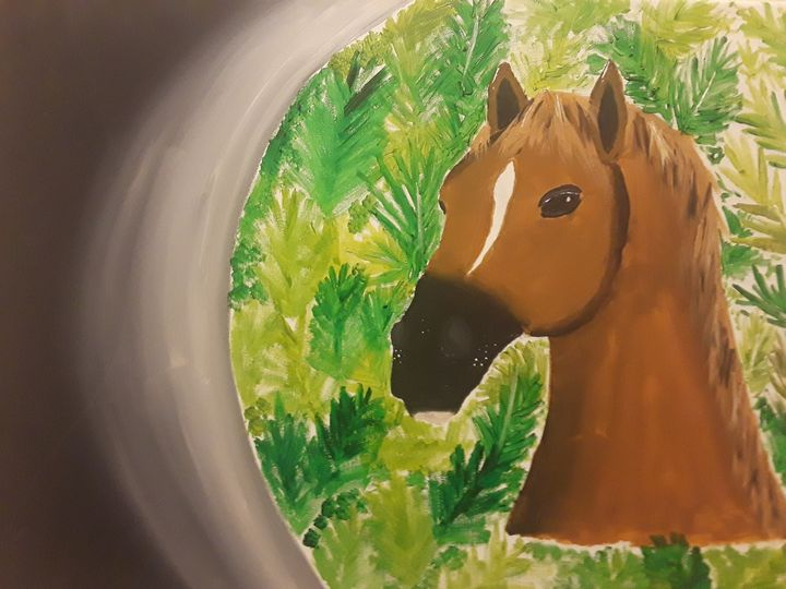 The majestic horse..... - Brandon's Paintings