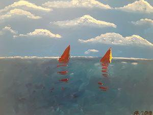 Riding the seas.....
