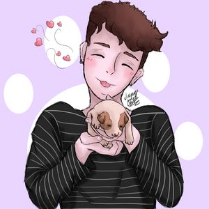 Dan Howell And Puppy