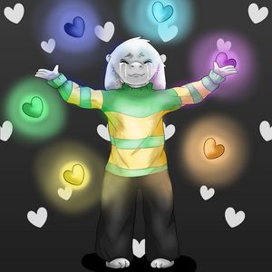 Asriel Releases The Souls