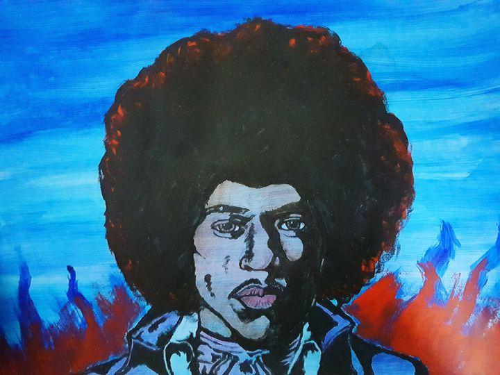 Jimi Hendrix 'Blue Haze' - DaleBoden_Art