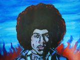 Original Jimi Hendrix 'Blue Haze'