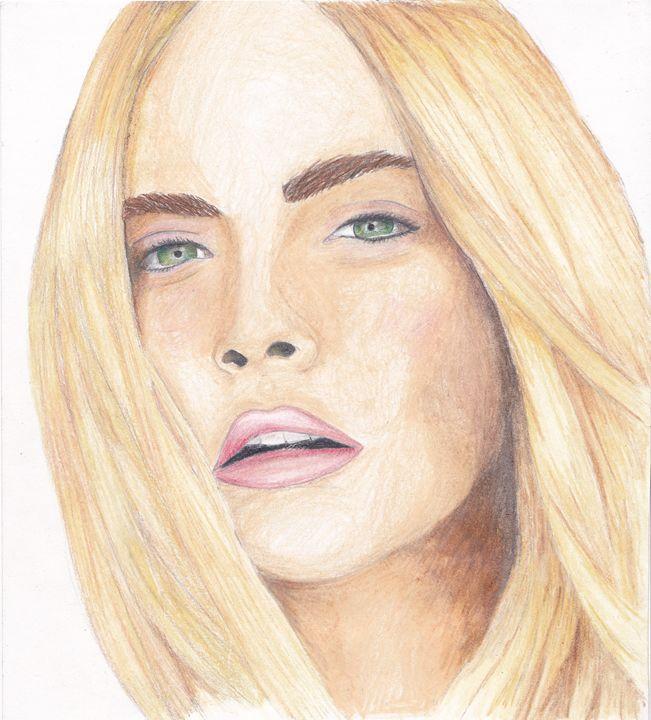 Cara Delevigne - Lina's Art