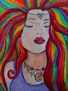 Psychedelic Lady