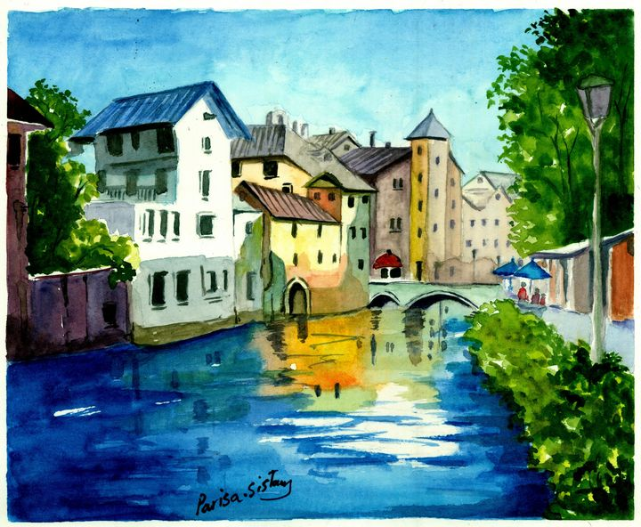 Canal Through the Town - Parisasis