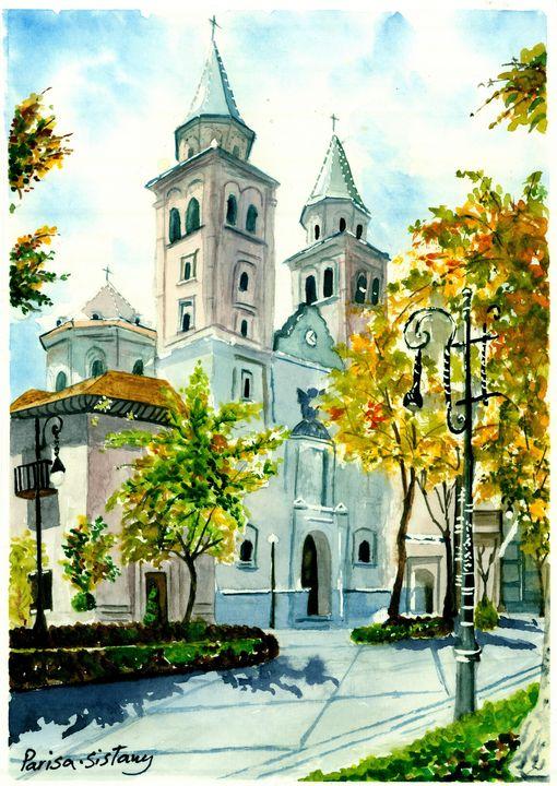 Church in City - Parisasis