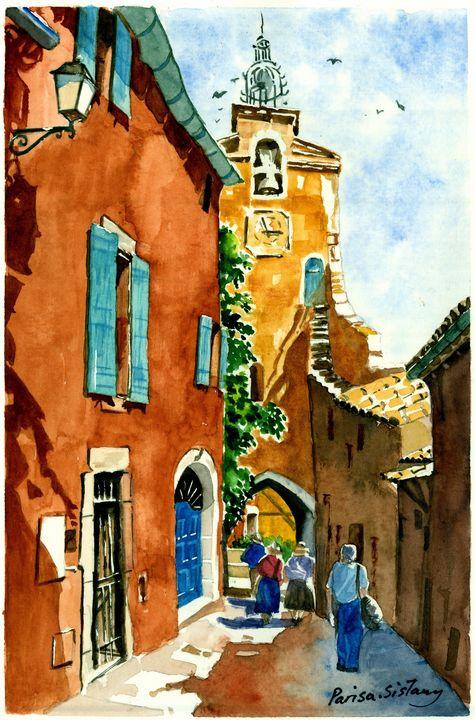 Old Italian Town - Parisasis