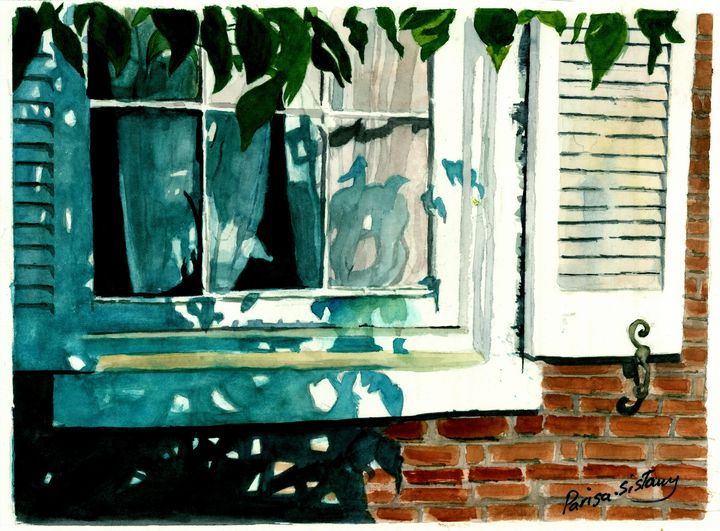 Window in the Shed - Parisasis