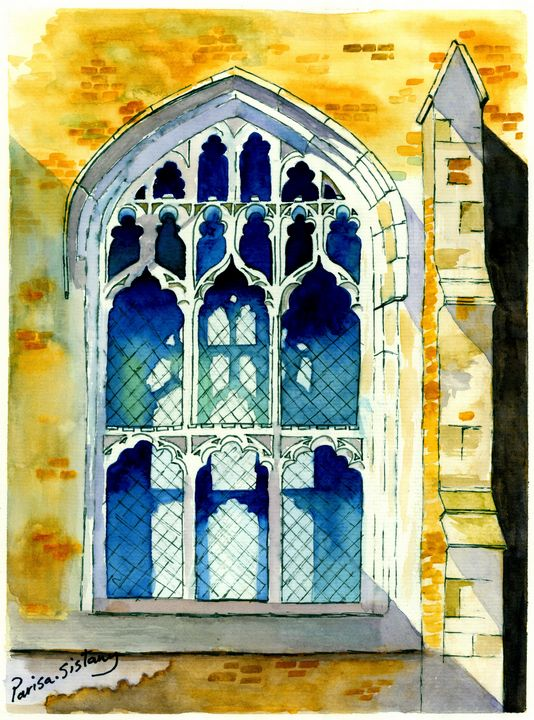 Church Window - Parisasis