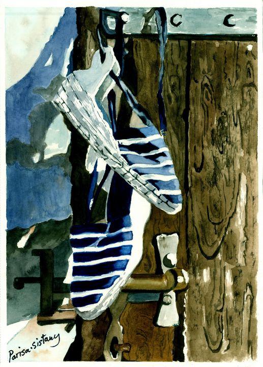 Blue Beach Shoes - Parisasis