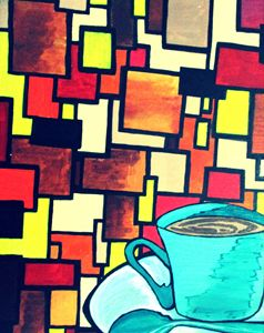 a cup of coffee..out of randomness