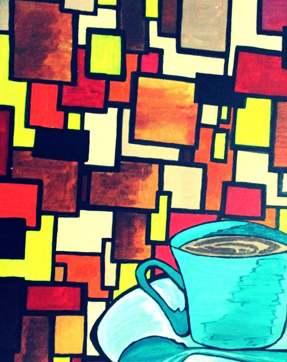 a cup of coffee..out of randomness - dOORga