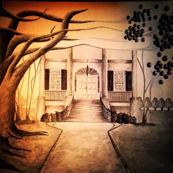 Dark Plantation - Michael Burrow Art