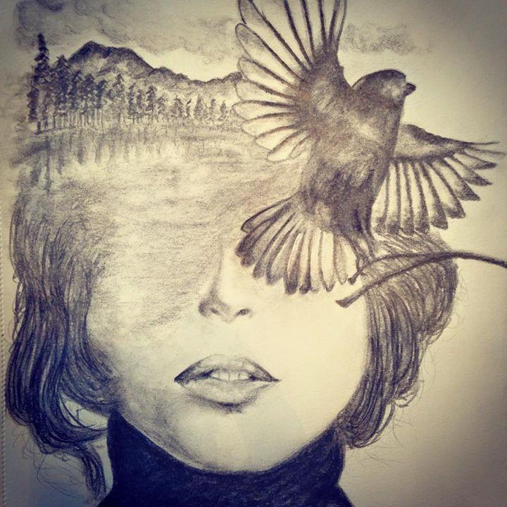 Nature Girl - Michael Burrow Art