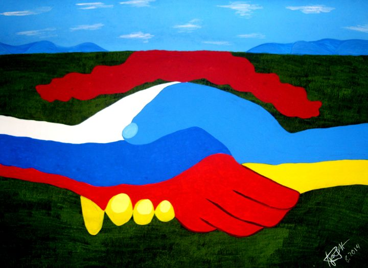 Peace for Russia and Ukraine - Huthmacher I.