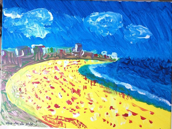 Beaming Coogee Beach - OLTAY Art