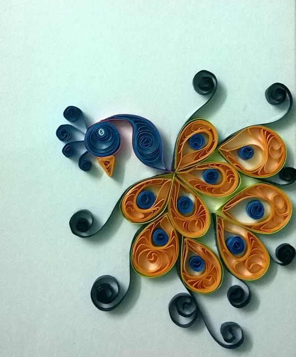 Indian Quilled peacock - Beautiful Meaningless Things
