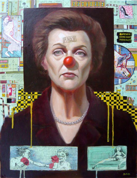 fake woman - darren johnson