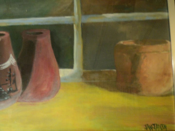 Vases in the Window - Jason Janjanin