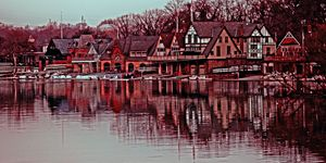 Boathouse Row Philadelphia - Gallery Three Photography
