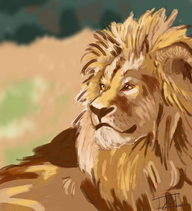 Sunshine Lion - Yvonne Arts