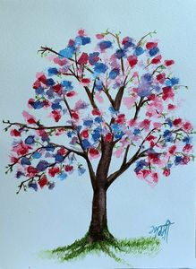 Tree of colours